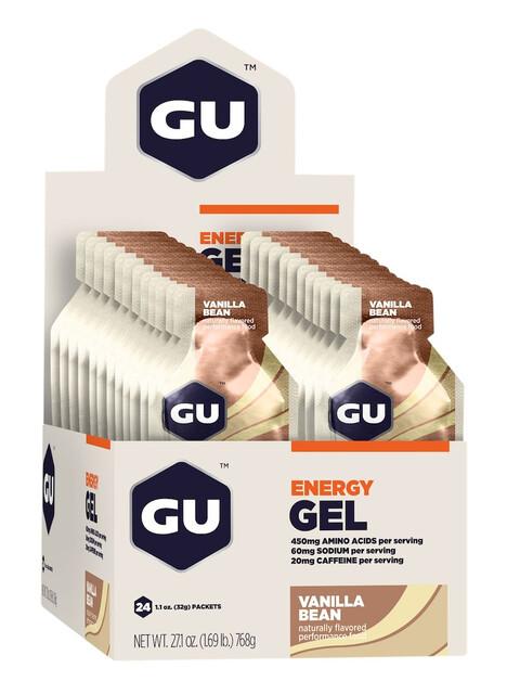GU Energy Gel Sportvoeding met basisprijs Vanilla Bean 24 x 32g